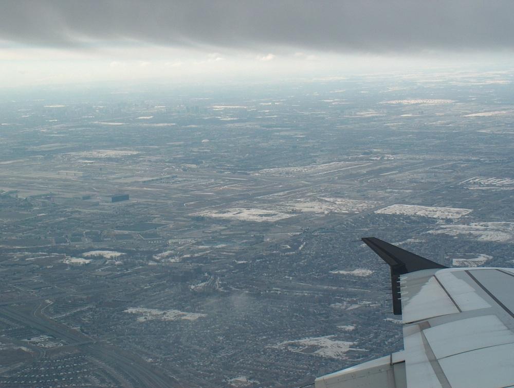 Над Торонто. 19-го Марта 2005 года.