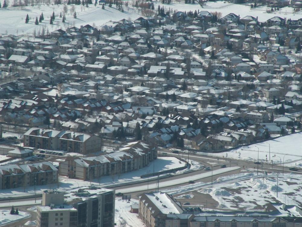 Над Виннипегом,  19 Марта 2005-го года