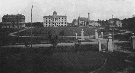 Фотографии Виннипега. Так выглядел Аспер Кампус в 1912 году.