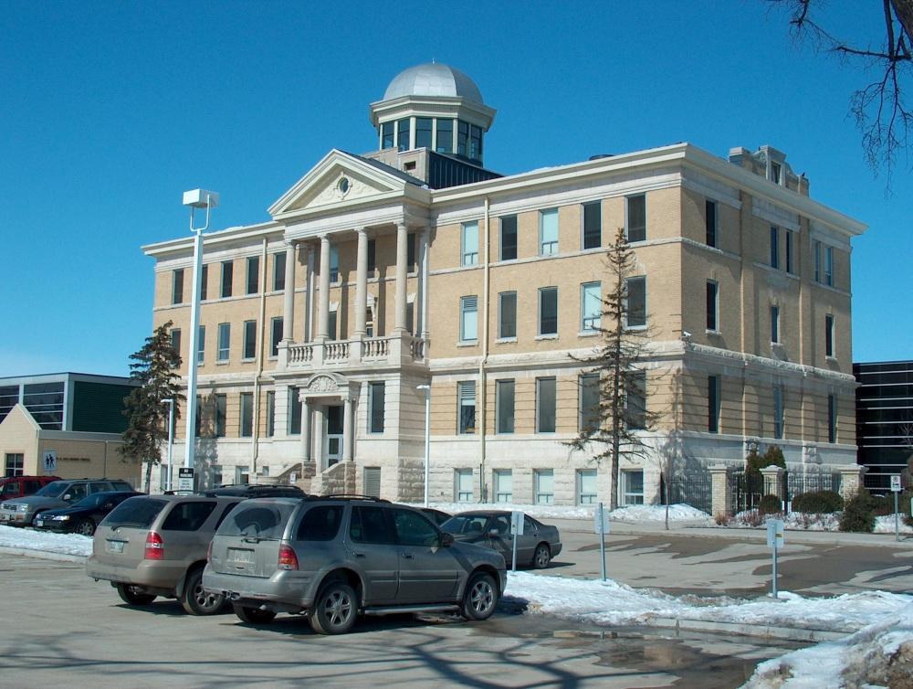 Фотографии Виннипега. Gray Academy. В этом корпусе располагается школа старшеклассников.