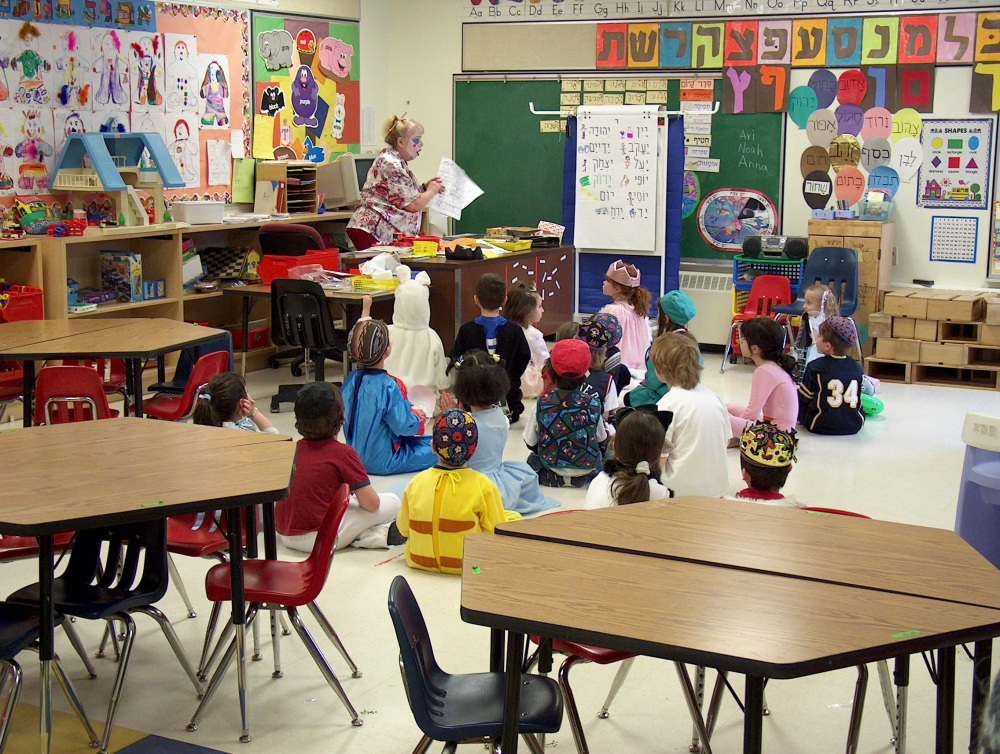 Фотографии Виннипега. Gray Academy. А это - молодёжь, детский сад.