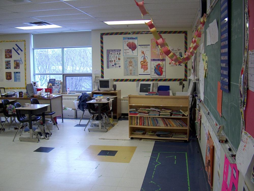 Фотографии Виннипега. Gray Academy. Это классная комната 4-го класса.
