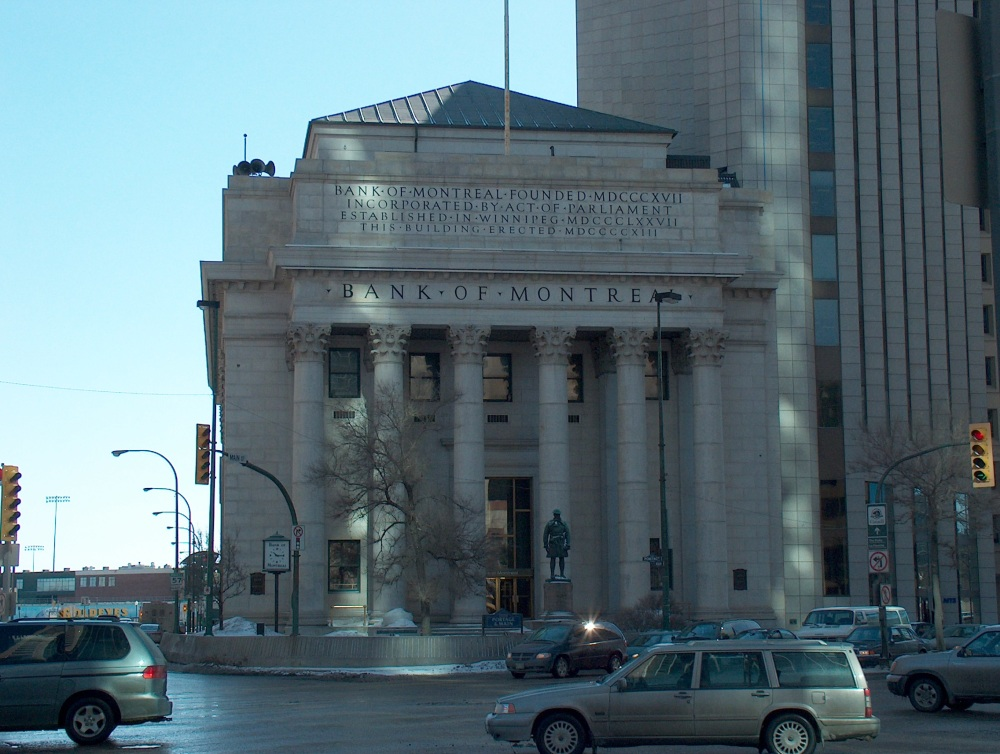 Фотографии Виннипега. 161 Potage Ave. Bank of Montreal