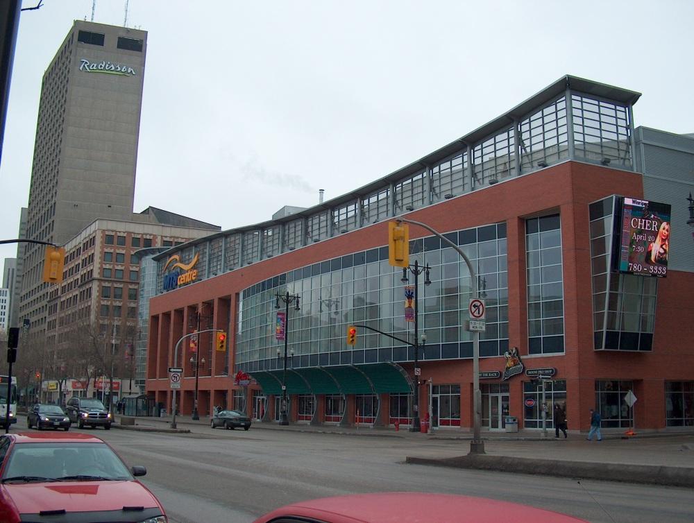 Фотографии Виннипега. MTS Centre Arena. 300 Portage Ave.