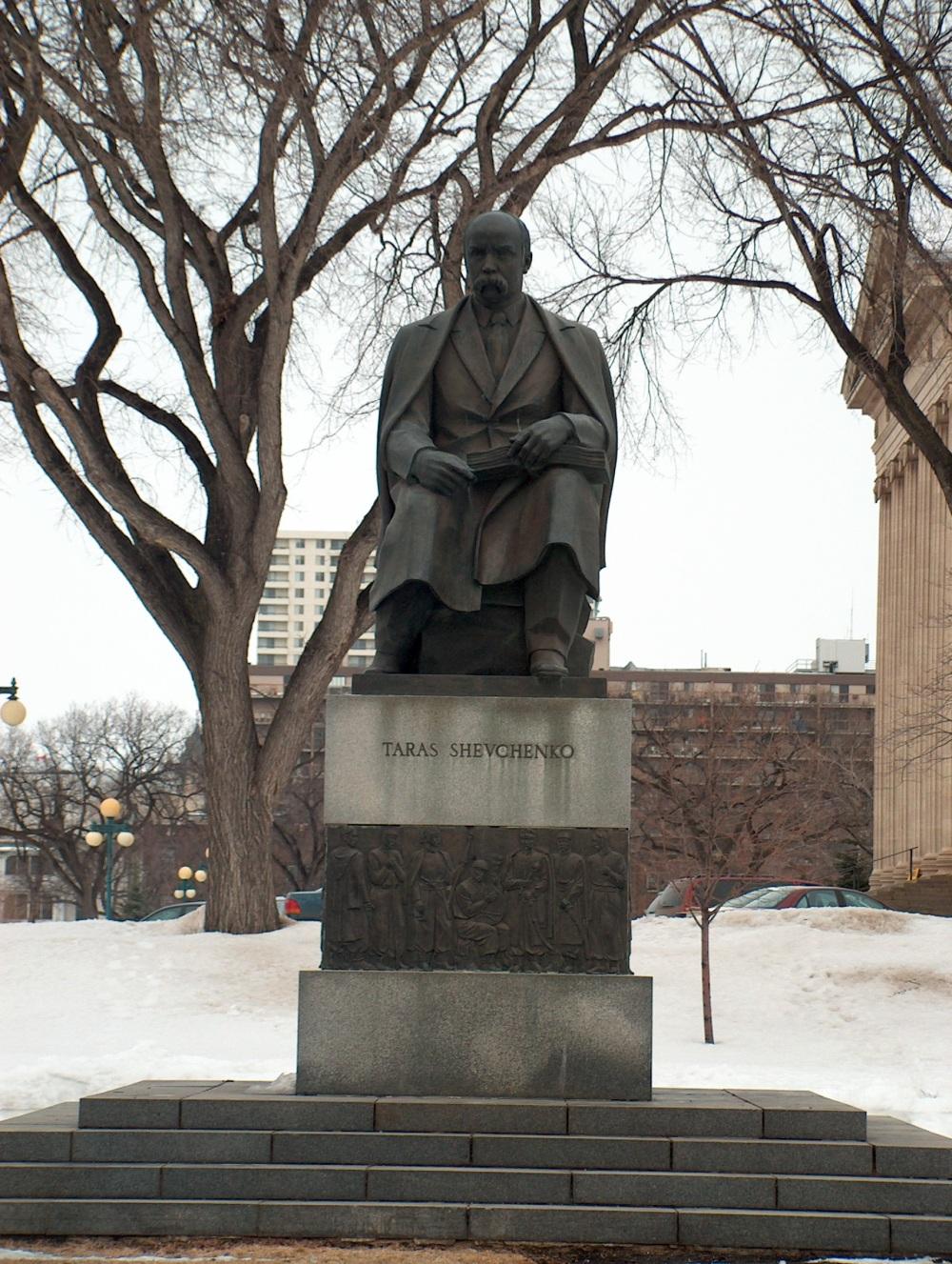 Фотографии Виннипега. Памятник Т.Шевченко
