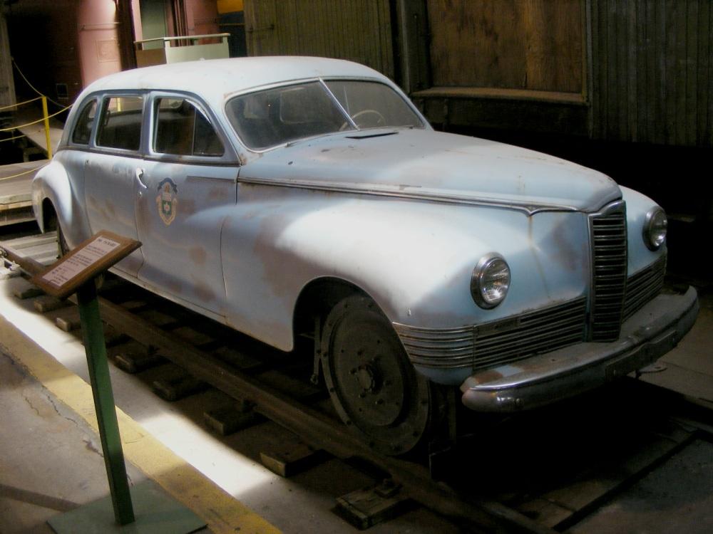 Фотографии Виннипега. Один из экспонатов ж/д музея.