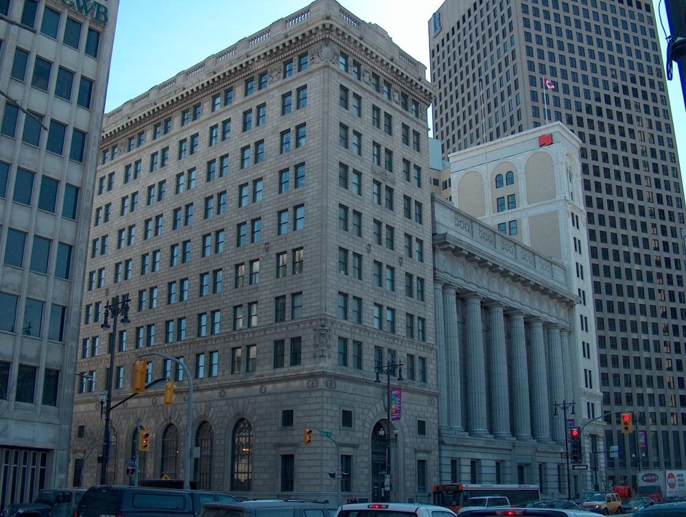 Фотографии Виннипега. Даунтаун. 395 Main Street. Hamilton Building.
