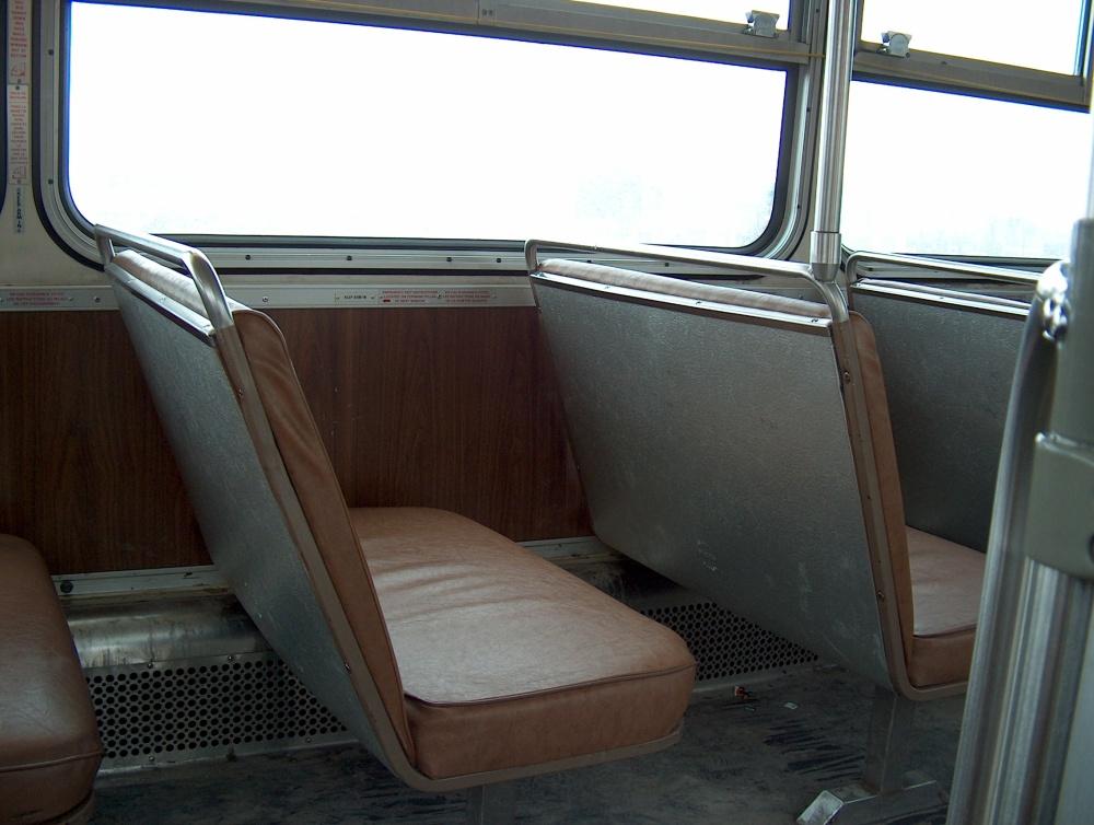 Фотографии Виннипега. Старый автобус.