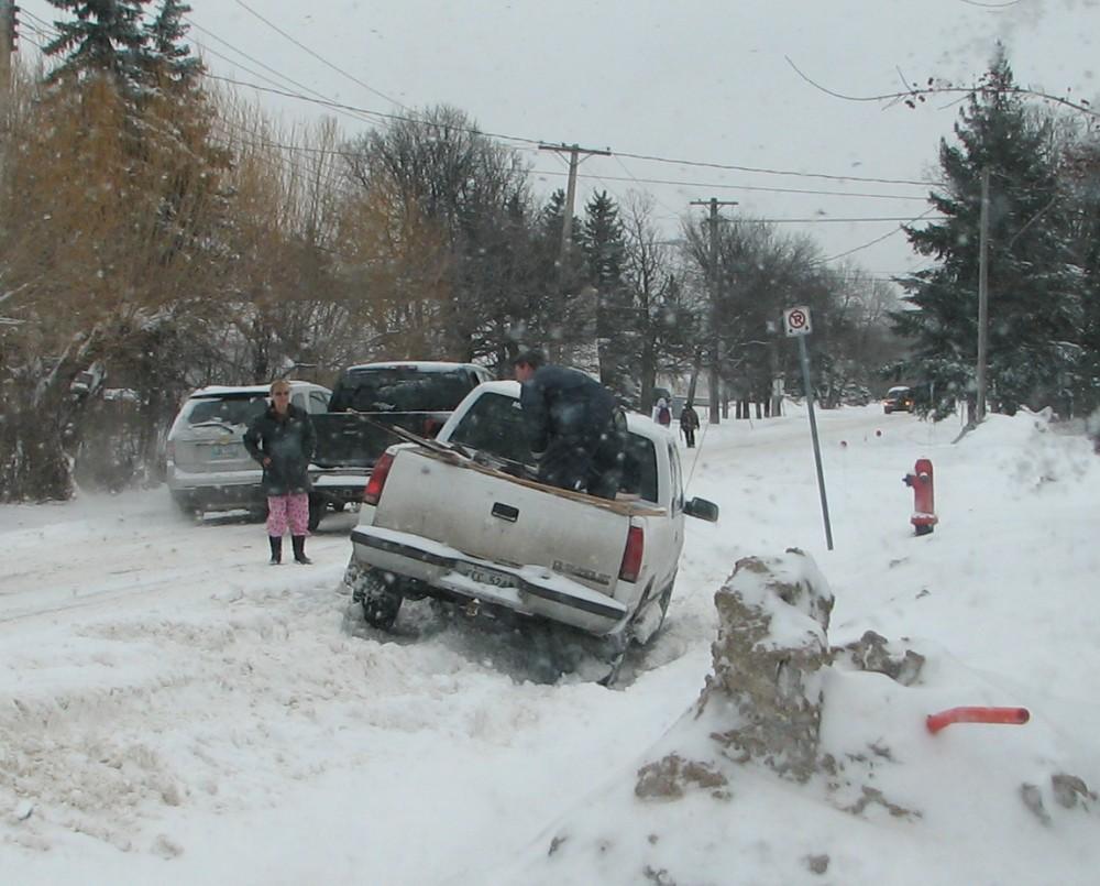 Фотографии Виннипега. Мартовский снегопад.