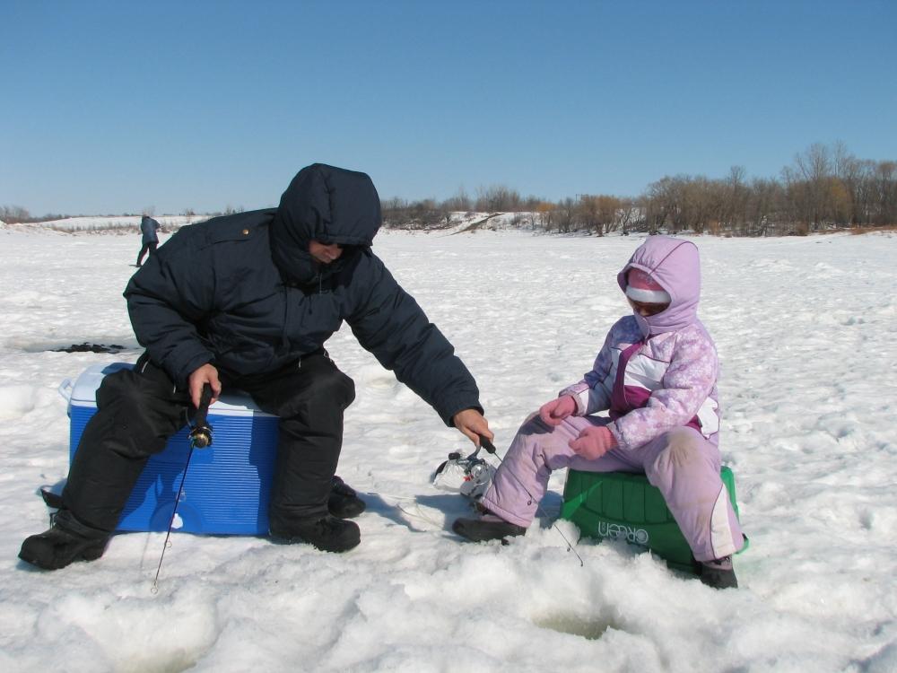 Фотографии Виннипега. Последняя зимняя рыбалка.