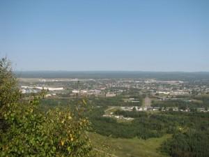 Вид на Thunder Bay