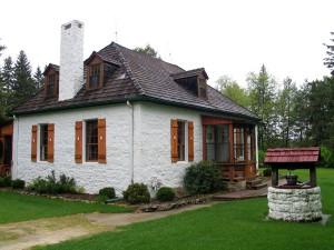 Пример раннего Манитобского, полностью каменного дома.